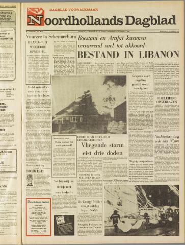 Noordhollands Dagblad : dagblad voor Alkmaar en omgeving 1969-11-03