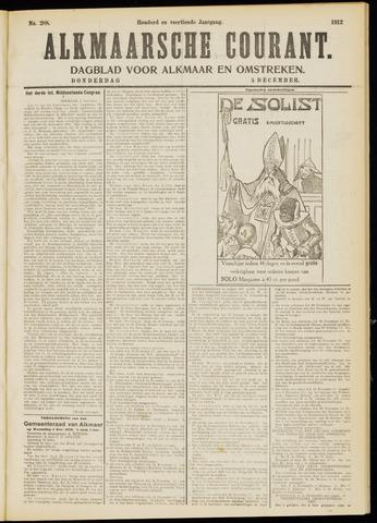 Alkmaarsche Courant 1912-12-05