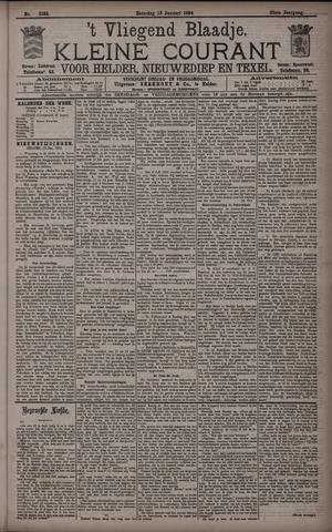 Vliegend blaadje : nieuws- en advertentiebode voor Den Helder 1894-01-13