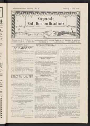 Bergensche bad-, duin- en boschbode 1936-06-27