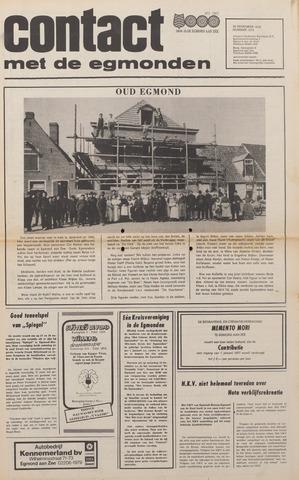 Contact met de Egmonden 1976-11-24
