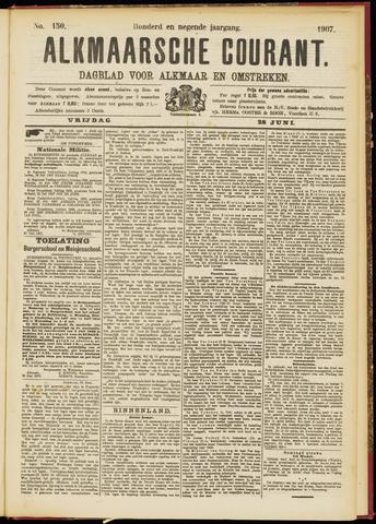 Alkmaarsche Courant 1907-06-28