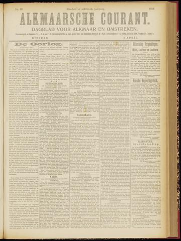 Alkmaarsche Courant 1916-04-04