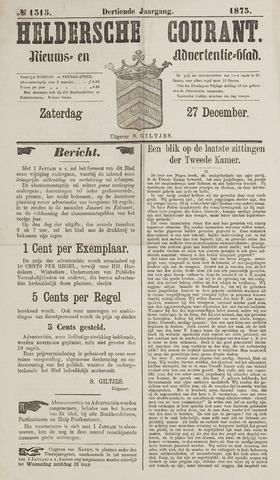 Heldersche Courant 1873-12-27