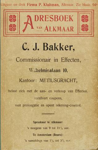 Adresboek van Alkmaar 1906-01-01