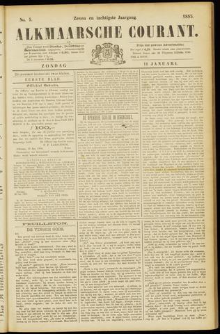 Alkmaarsche Courant 1885-01-11