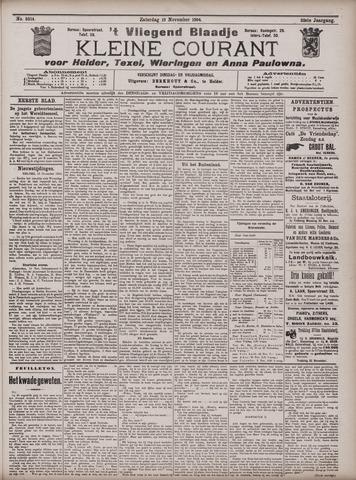 Vliegend blaadje : nieuws- en advertentiebode voor Den Helder 1904-11-19