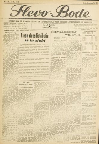 Flevo-bode: nieuwsblad voor Wieringen-Wieringermeer 1948-05-19