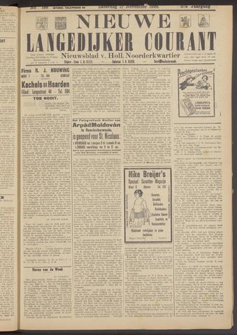 Nieuwe Langedijker Courant 1928-11-17