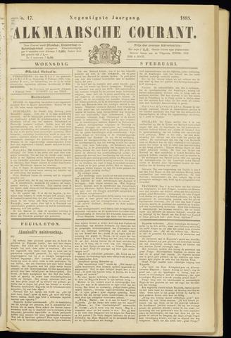 Alkmaarsche Courant 1888-02-08