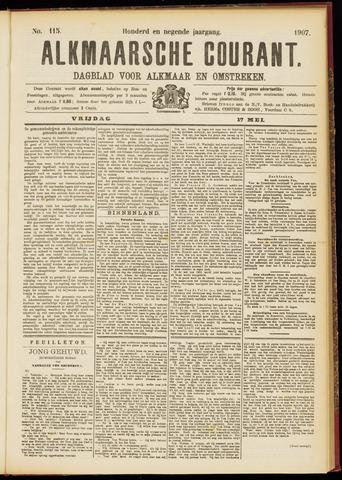 Alkmaarsche Courant 1907-05-17