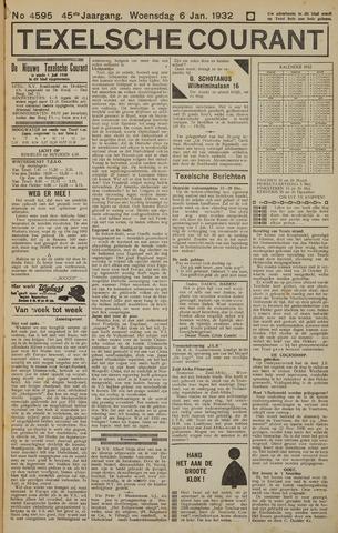 Texelsche Courant 1932