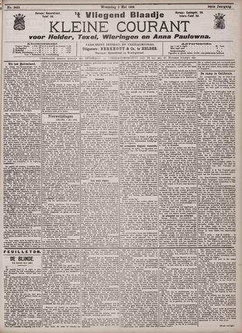 Vliegend blaadje : nieuws- en advertentiebode voor Den Helder 1906-05-02