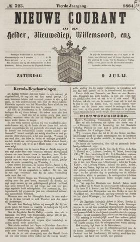 Nieuwe Courant van Den Helder 1864-07-09