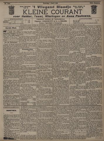Vliegend blaadje : nieuws- en advertentiebode voor Den Helder 1908-04-04