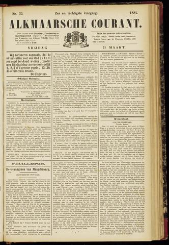 Alkmaarsche Courant 1884-03-21