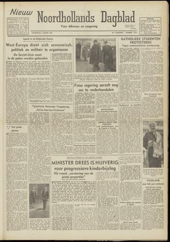 Nieuw Noordhollandsch Dagblad : voor Alkmaar en omgeving 1948-03-04