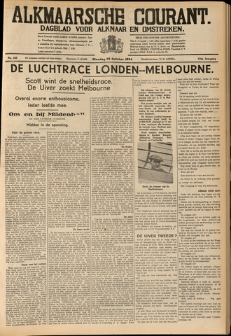 Alkmaarsche Courant 1934-10-23