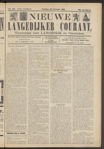 Nieuwe Langedijker Courant 1924-10-28