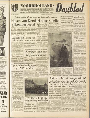 Noordhollands Dagblad : dagblad voor Alkmaar en omgeving 1958-05-02
