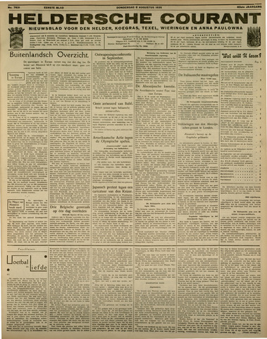 Heldersche Courant 1935-08-08