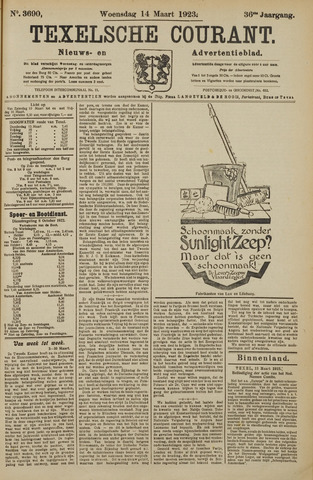 Texelsche Courant 1923-03-14