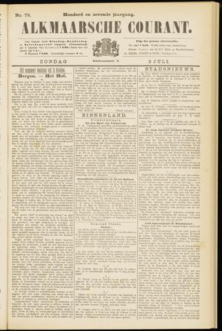 Alkmaarsche Courant 1905-07-02