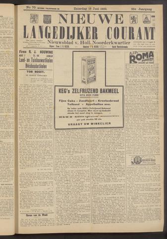 Nieuwe Langedijker Courant 1929-06-15