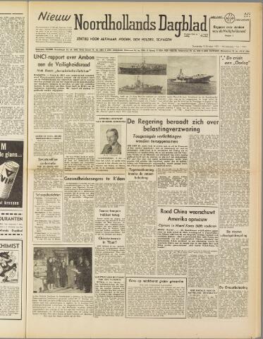 Nieuw Noordhollandsch Dagblad : voor Alkmaar en omgeving 1950-10-12