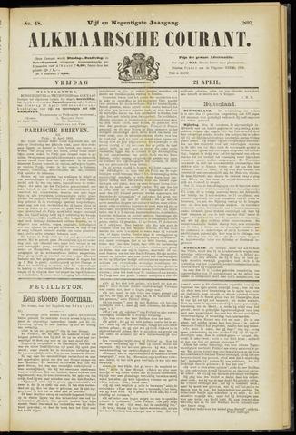 Alkmaarsche Courant 1893-04-21