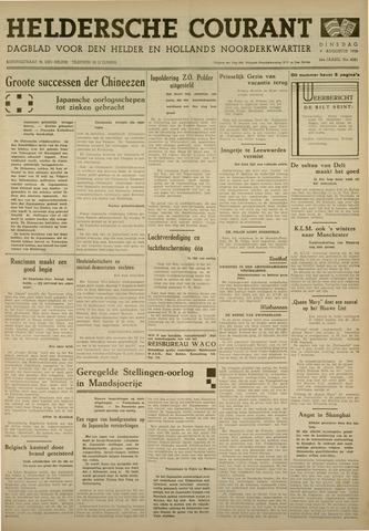 Heldersche Courant 1938-08-09