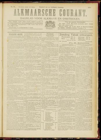 Alkmaarsche Courant 1919-04-11