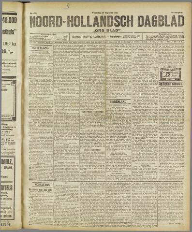 Ons Blad : katholiek nieuwsblad voor N-H 1922-08-23