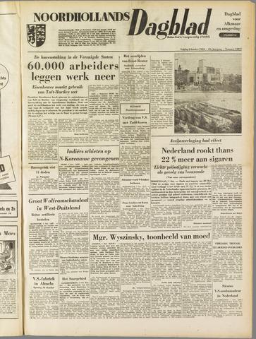 Noordhollands Dagblad : dagblad voor Alkmaar en omgeving 1953-10-02