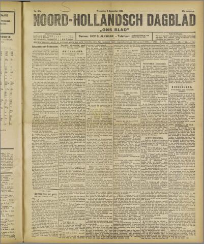 Ons Blad : katholiek nieuwsblad voor N-H 1922-12-06