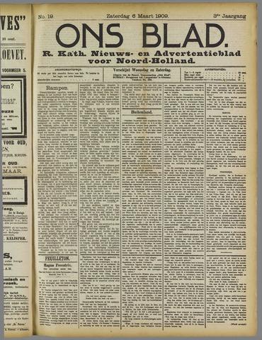 Ons Blad : katholiek nieuwsblad voor N-H 1909-03-06