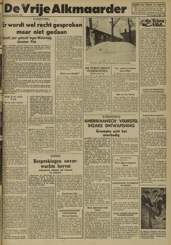 De Vrije Alkmaarder 1947-02-05