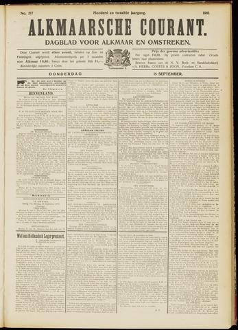 Alkmaarsche Courant 1910-09-15
