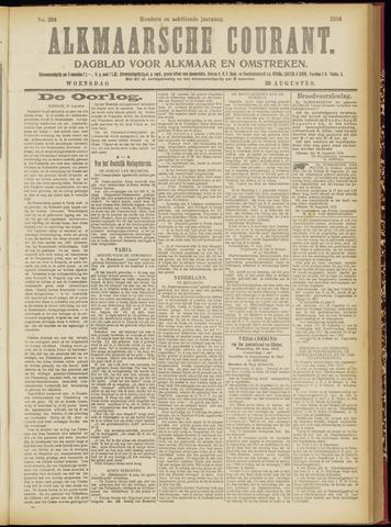 Alkmaarsche Courant 1916-08-30