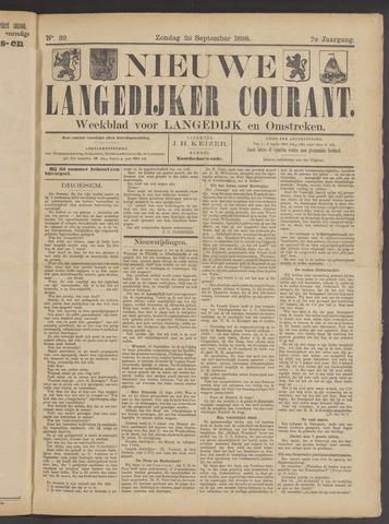 Nieuwe Langedijker Courant 1898-09-25