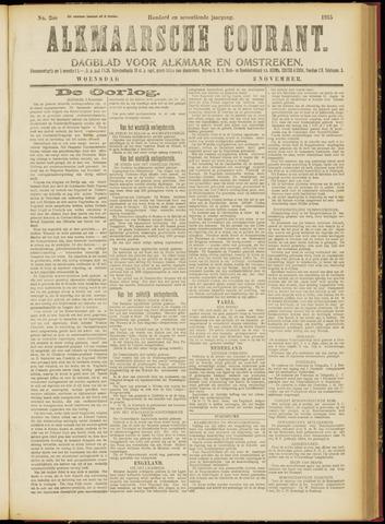 Alkmaarsche Courant 1915-11-03