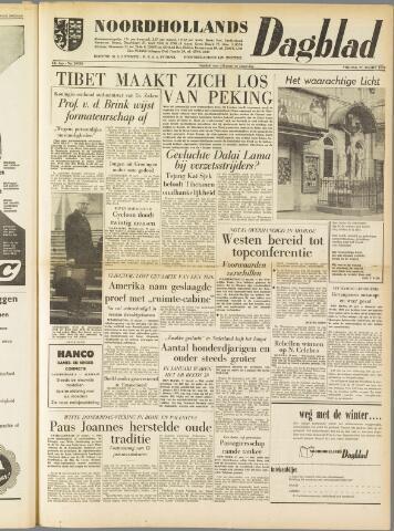 Noordhollands Dagblad : dagblad voor Alkmaar en omgeving 1959-03-27