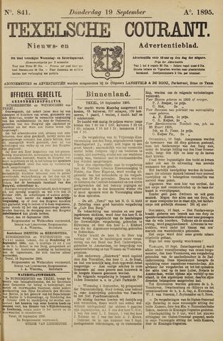 Texelsche Courant 1895-09-19