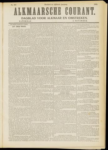 Alkmaarsche Courant 1913-11-08