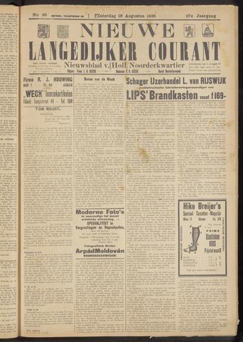 Nieuwe Langedijker Courant 1928-08-18
