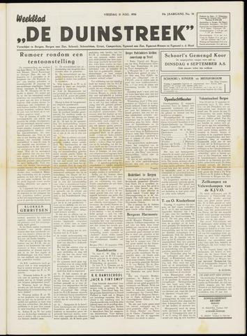 De Duinstreek 1956-08-31