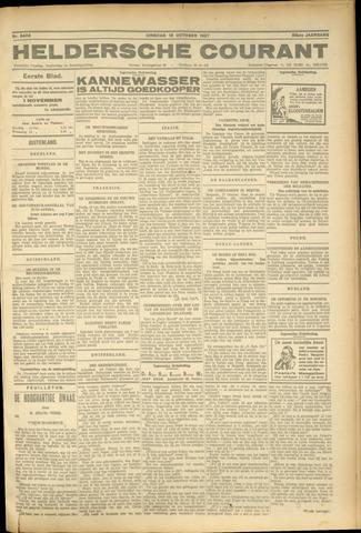 Heldersche Courant 1927-10-18