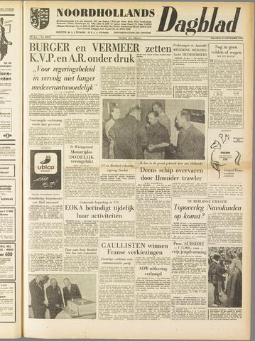 Noordhollands Dagblad : dagblad voor Alkmaar en omgeving 1958-11-24