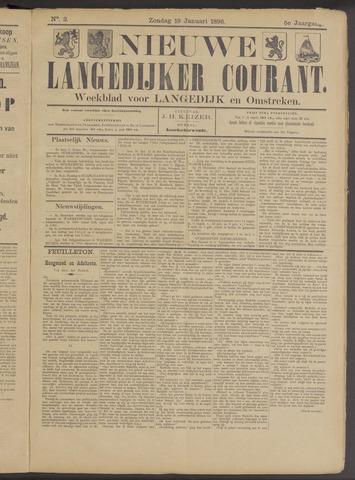 Nieuwe Langedijker Courant 1896-01-19