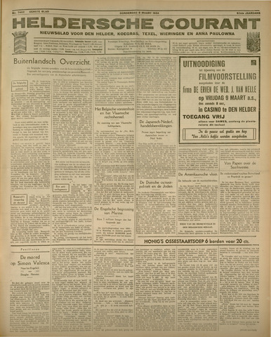 Heldersche Courant 1934-03-08